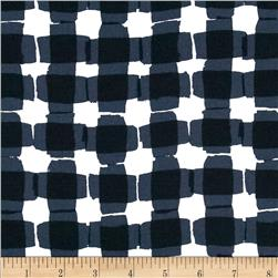 Kanvas Mad For Melon Mod Gingham Black