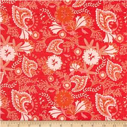 Riley Blake Chatsworth Floral Coral