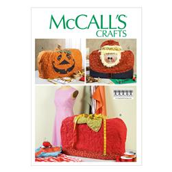 McCall's Sewing Machine Covers Pattern M6857 Size OSZ