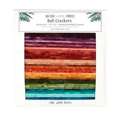 Bali Batiks Terra 10 In. Crackers