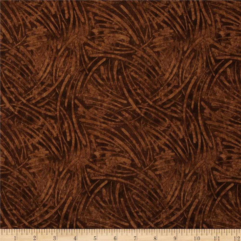 "108"" Wide Essentials Quilt Backing Chopsticks Brown"