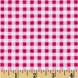 Newcastle Novelties Gingham Fuchsia