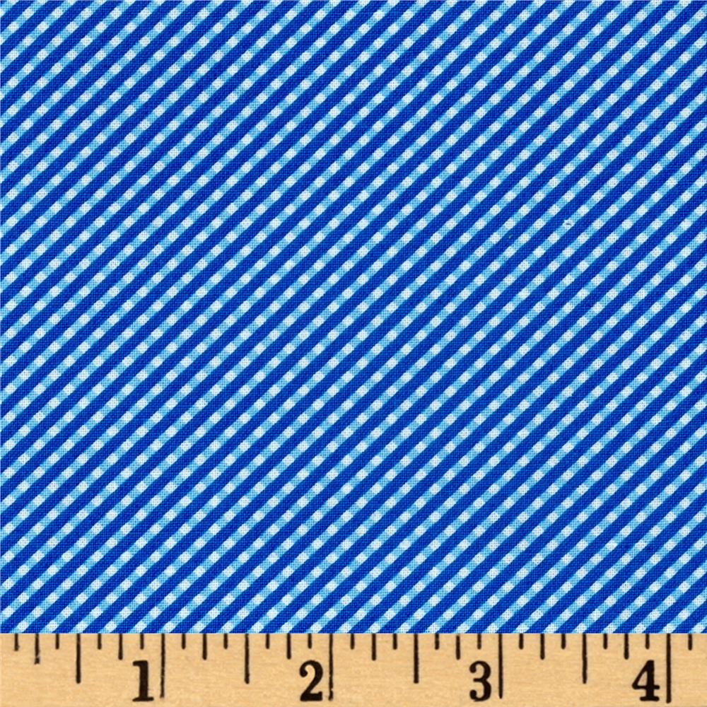 Moda Brighten Up! Gingham Up Blue