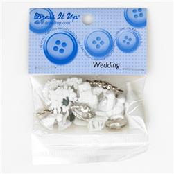 Dress It Up Embellishment Buttons  Wedding