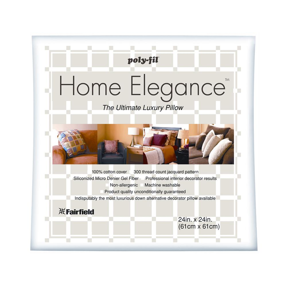 "Fairfield Home Elegance Pillow 24"" Square"