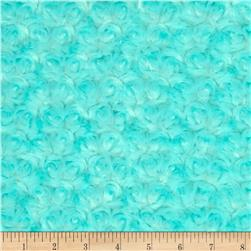 Shannon Minky Rose Cuddle Saltwater