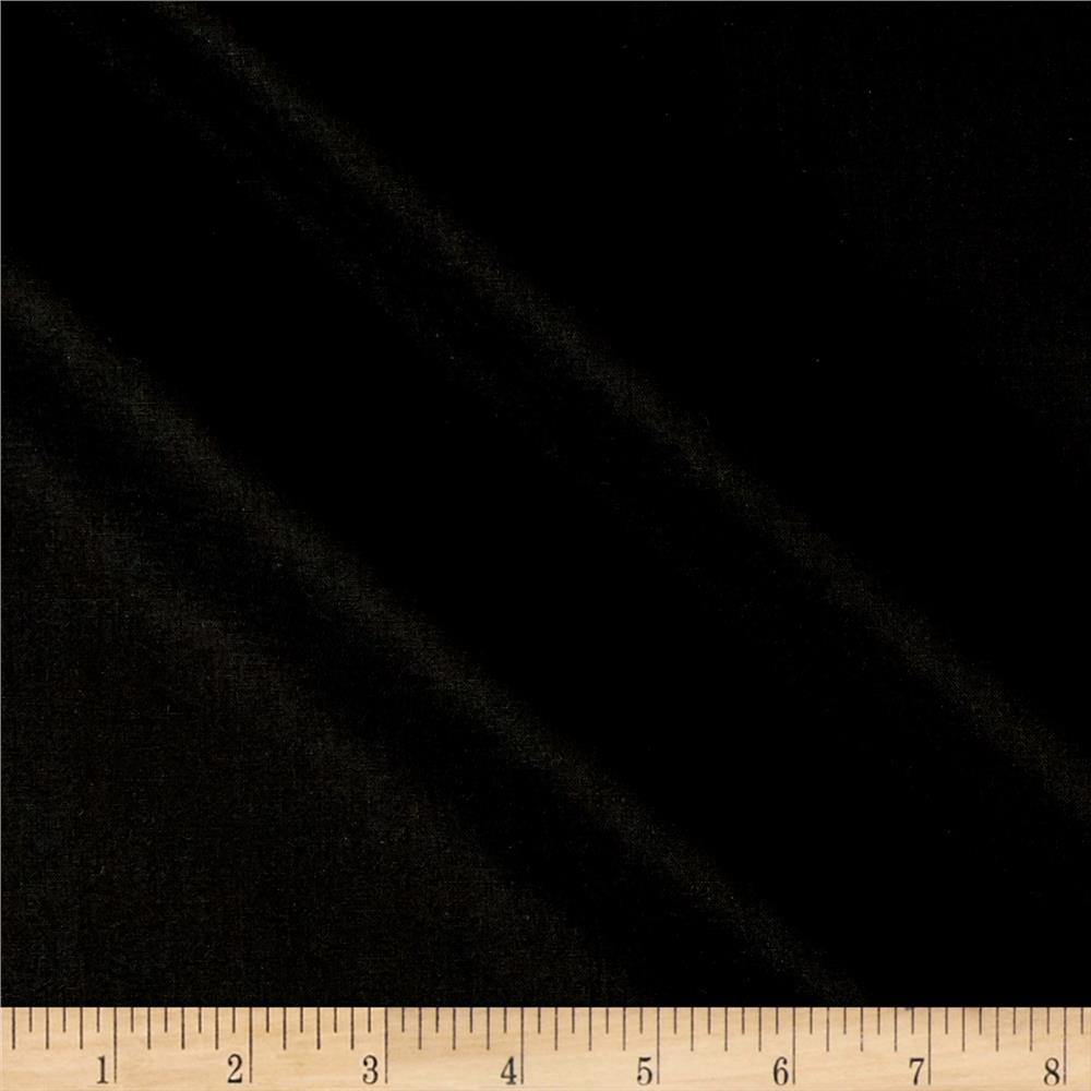 Kona cotton black discount designer fabric for Black fabric