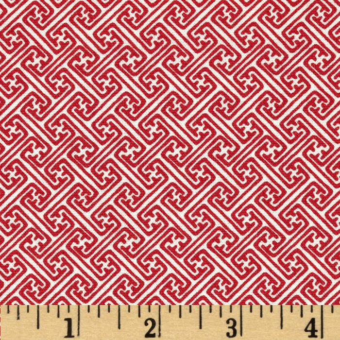 Sakura Geometric Red