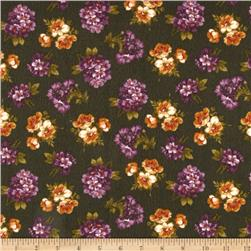 Kensington Flannel Small Floral Hunter