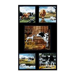 Farm Life 24 In. Panel Black