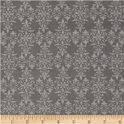 Natures Birds Damask Gray
