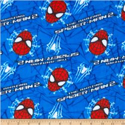 Marvel Comics The Amazing Spiderman Fleece Blue
