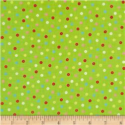 Lecien Minny Muu Tiny Flowers Green