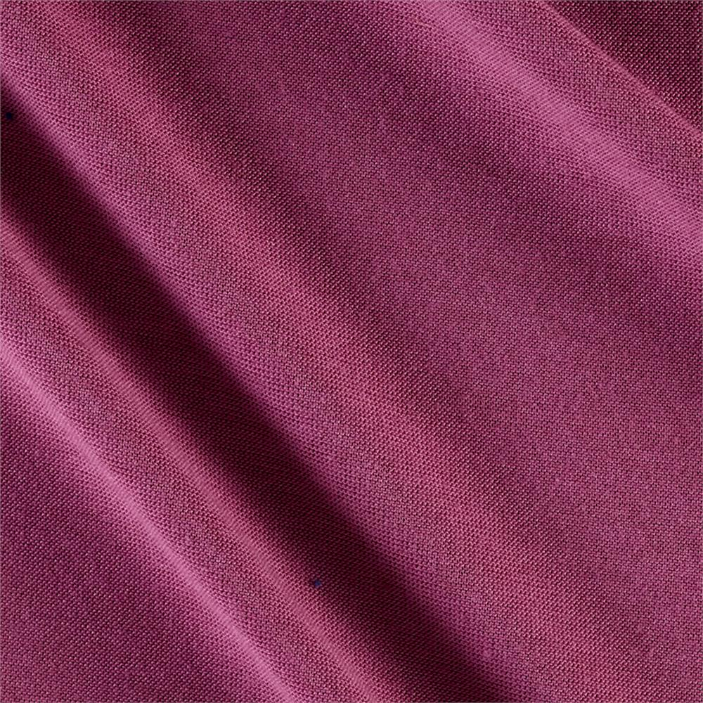Polyester Jersey Knit Solid Light Plum Fabric