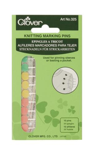Clover Knitting Marking Pins, 10/pkg