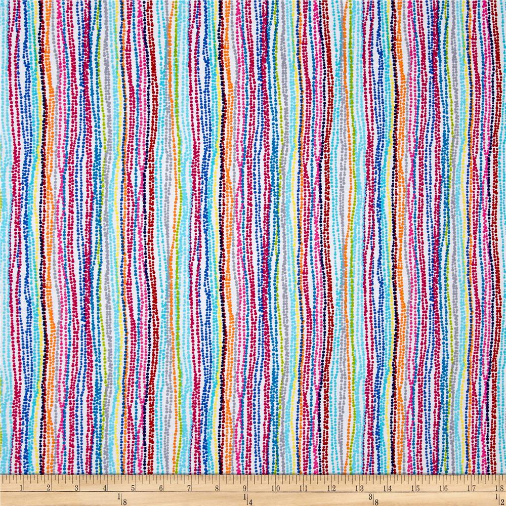 Timeless Treasures Harper Dot Stripe Multi