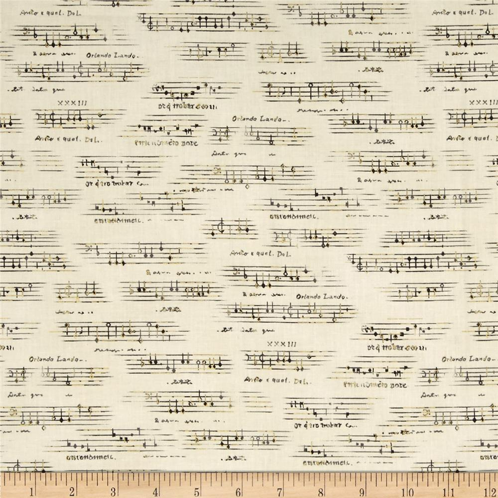 All That Jazz Metatllic Sheet Music Grey