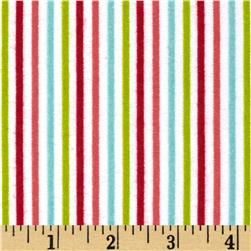 Riley Blake Merry Matryoska Flannel Stripe Multi