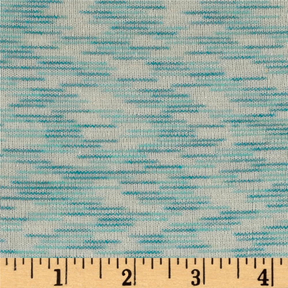 Space dye slub baby hatchi knit mint discount designer for Space baby fabric