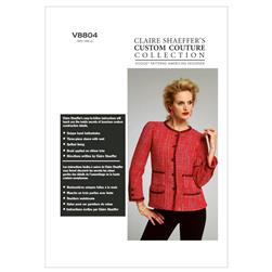 Vogue Misses' Jacket Pattern V8804 Size A50