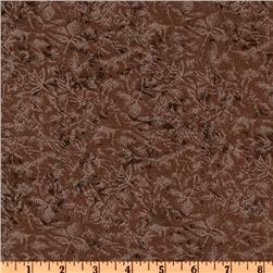 Michael Miller Fairy Frost Sepia Brown Fabric