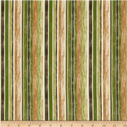 Rainforest Stripe Green