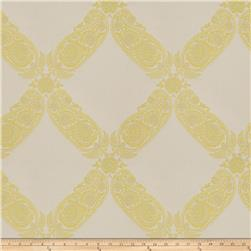 Keller Williams Floral Lattice Jacquard Citrus