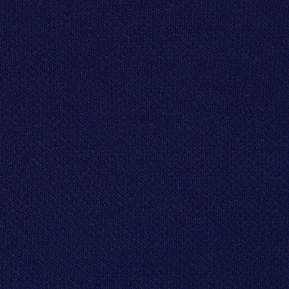 Stretch Pique Sweater Knit Navy