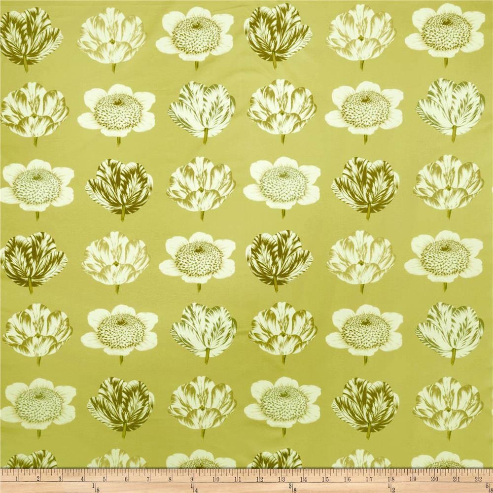 Fabricut Pop Floral Green Tea