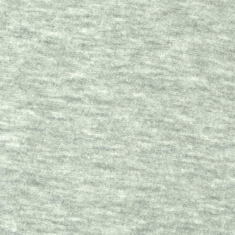 Tissue Cotton Poly Jersey Knit Heather Grey