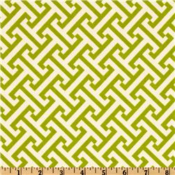 Waverly Cross Section Honeydew Fabric