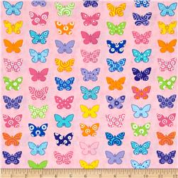 Moda Brighten Up! Flutter Up Pink