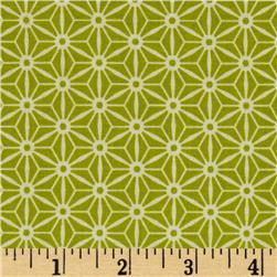 Riley Blake Sidewalks Geometric Green