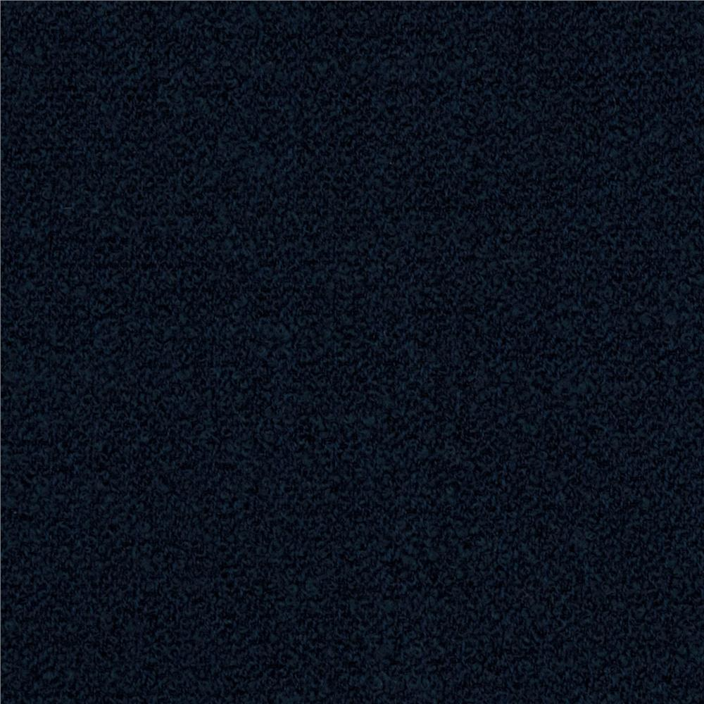 Boucle Wool Suiting Dark Blue