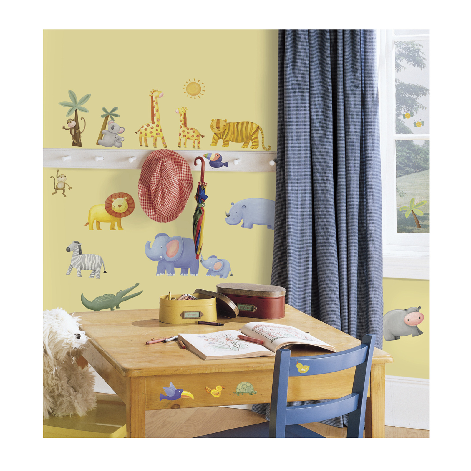 Jungle Adventure Wall Decals by Stardom Specialty in USA