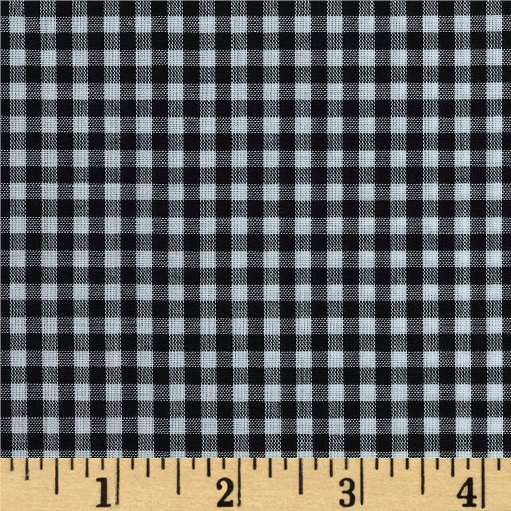 "Imperial 60"" Gingham 1/8"" Black"