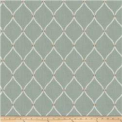 Fabricut Engine Ogee Linen Blend Shore