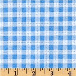 Cuddle Flannel Gingham Blue