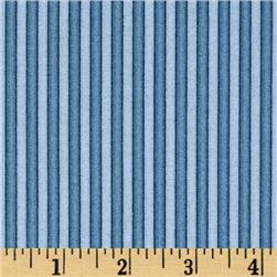 Rainbow Dreams Stripe Blue