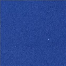 Rayon Lycra Jersey Knit Blue Fabric
