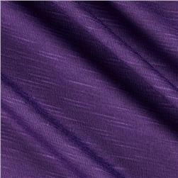 Stretch Slub Rayon Jersey Purple