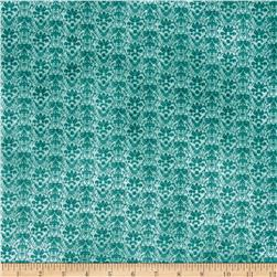 Heartfelt Gorjuss Damask Teal