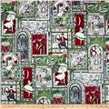 Stained Glass Christmas 12 Days of Christmas Frost/Silver
