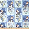 Holly Hobbie Holly Heart Patch Blue