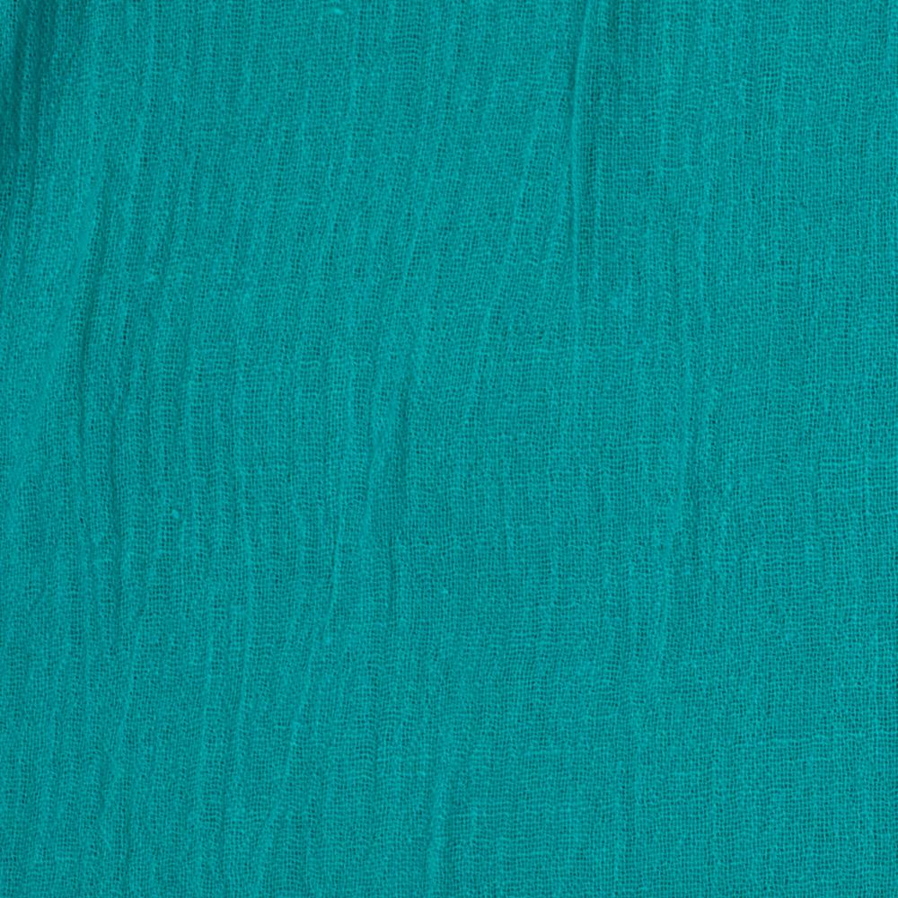 Island Breeze Gauze Jade Blue