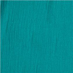 Island Breeze Gauze Jade Blue Fabric