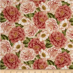 Fairy Briar Metallic Flowers Cream