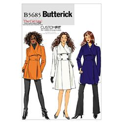 Butterick Misses' Jacket and Coat Pattern B5685 Size B50