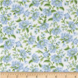 American Bouquet Flannel Flower Stem Blue/Green