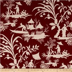 Asian Crimson Toile